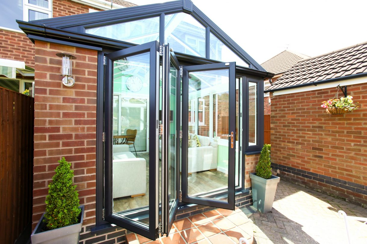 bi-fold doors in extensions hayes