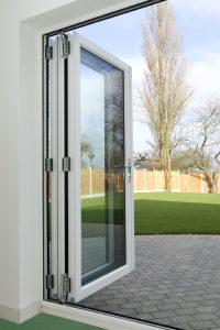 outward opening bi-fold doors hayes