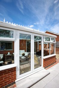 french doors in conservatory hayes