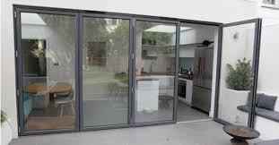 grey bi-fold doors hayes