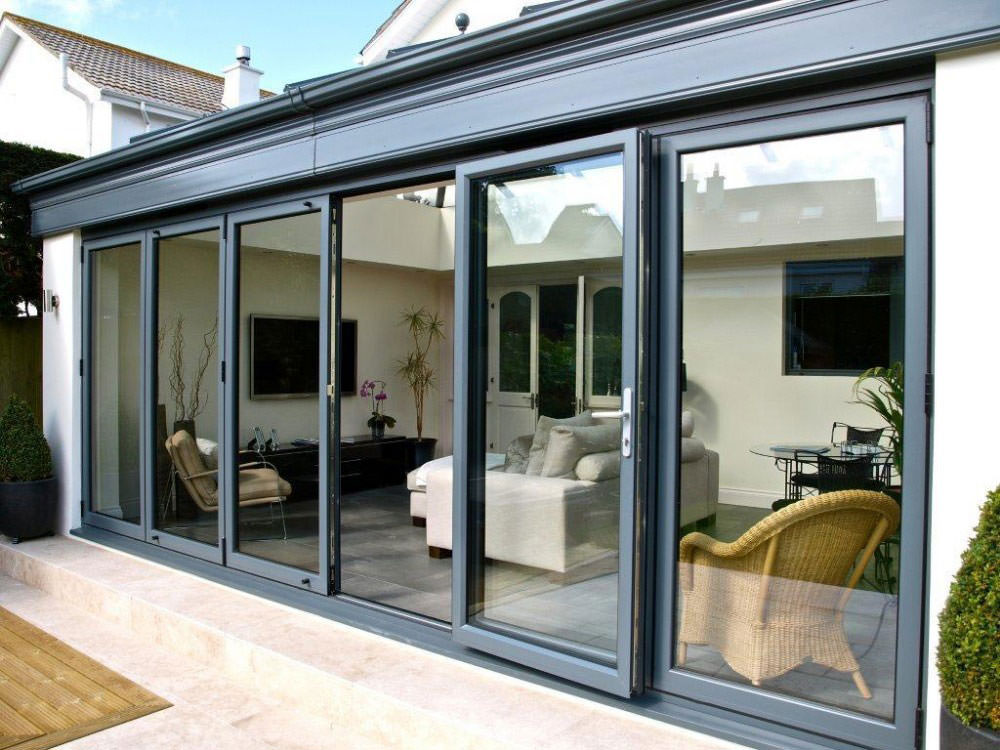 aluminium bi-fold doors hayes
